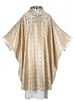 Gold Cross Jacquard Chasuble
