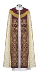 Gold Cross Jacquard Cope