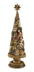 "30"" Nativity Christmas Tree - Free Shipping"