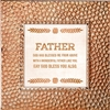 Father Touch of Vintage Copper frame Tabletop Christian Verses - 7 x 7