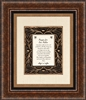 Prayer for our Pastor frame Wall Art Christian Verses - 16 x 19