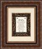 Appreciation for our Minister frame Wall Art Christian Verses - 16 x 19
