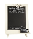 Prayer Requests Philippians 4:6 frame Tabletop or Wall Décor Christian Verses - 12 x 18