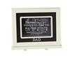 Dad Chalkboard Messages frame Tabletop Christian Verses - 9 x 7