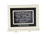 Friends Chalkboard Messages frame Tabletop Christian Verses - 9 x 7
