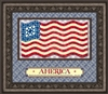 God Bless America Wall Art -22 x 19