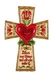 "Bless this Home Wall Cross - 12"" H"