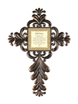 "The Lord's Prayer Wall Cross - 24"" H"
