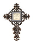 "Serenity Prayer Wall Cross - 24"" H"