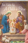 2019 Christmas Bulletin  - For Unto Us A Child Is Born