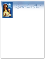 2018 Christmas Letterhead - Christ the Savior is Born