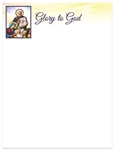 2019 Christmas Letterhead - Glory to God