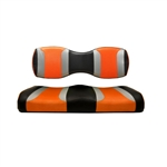 Tsunami Blk/Orange Rear Seat Cushions for Madjax 250/300