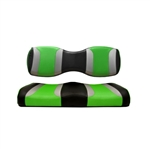 Tsunami Blk/Green Rear Seat Covers for Madjax 250/300