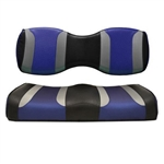 Tsunami Blk/Blue Rear Seat Covers for Madjax 250/300