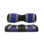Tsunami Blk/Blue Rear Seat Cushions for Madjax 250/300