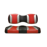Tsunami Blk/Red Rear Seat Covers for Madjax 250/300