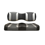 Tsunami Blk/Grey Rear Seat Covers for Madjax 250/300