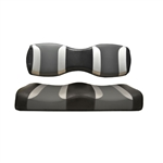 Tsunami Blk/Grey Rear Seat Cushions for Madjax 250/300