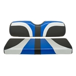 Madjax Blade Seat Covers - Black/Silver/Blue