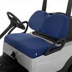 Terry Cloth Golf Cart Seat Cover - Blue