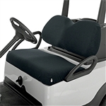 Diamond Air Mesh Golf Cart Seat Cover - Black