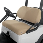 Diamond Air Mesh Golf Cart Seat Cover - Tan