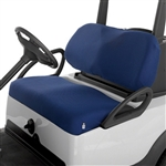 Diamond Air Mesh Golf Cart Seat Cover - Blue