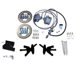 Jake's Front Disc Brake Kit - Club Car DS (04.5-08.5)  w/Jake's Long Travel