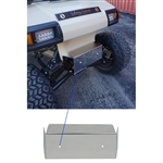 Club Car DS Stainless Front Bumper