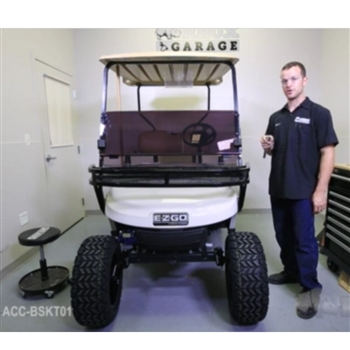Front Mounting Cargo Basket for EZ GO TXT