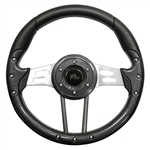 "13"" Aviator 4 Carbon Fiber / Aluminum Steering Wheel"