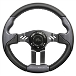 "13"" Aviator 5 Carbon Fiber / Black Steering Wheel"