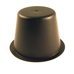 Black Plastic Rear Axle Dust Cap for E-Z-GO TXT