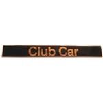 Club Car DS (82+) Emblem, Black & Gold
