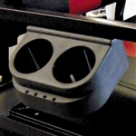 Club Car DS OR Rear Seat Kit Dual Cup Holder