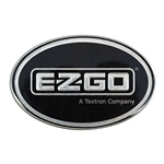 Emblem for E-Z-GO Workhorse - Black & Platinum
