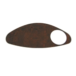Woodgrain Dash Cover Plate for EZ GO RXV Fleet