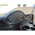 Carbon Fiber Dash Cover Plate for EZ GO RXV Fleet