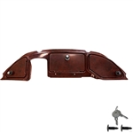 Dark Woodgrain Club Car Precedent (08.5+) Dash