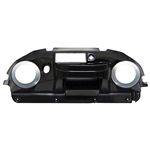 Deluxe Black Club Car Precedent Dash Stereo Ready