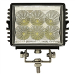 "LED Utility Light Spotlight, 4.5"" 12V-24V 18W 1350 Lumen"