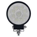 "LED Utility Light Spotlight, 2.25"" 12V-24V 18W 1350 Lumen"