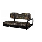Cordura Camouflage Rear Seat (Bottom/Back Set) Covers