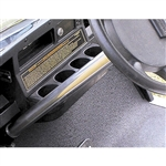 Club Car 1985+ (not precedent) Stainless Steering Column Cover