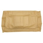 Tan Seat Bottom Cover for  EZ GO Med/TXT (94+)