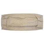 Stone Beige Seat Back Cover for EZ GO RXV (16+)