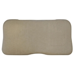 Stone Beige Seat Bottom Assembly for (16+) E-Z-GO RXV