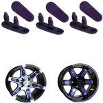 "Purple Wheel Inserts for 12"" RX250/RX252 Wheels"
