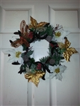 Bonnies Horse Shoe Christmas Wreath